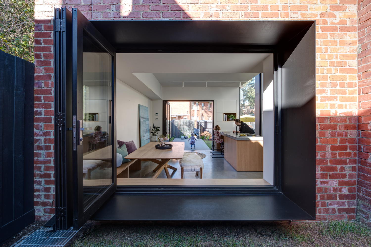 This Extension Is Arranged Like a Game of Tetris to Maximise Space