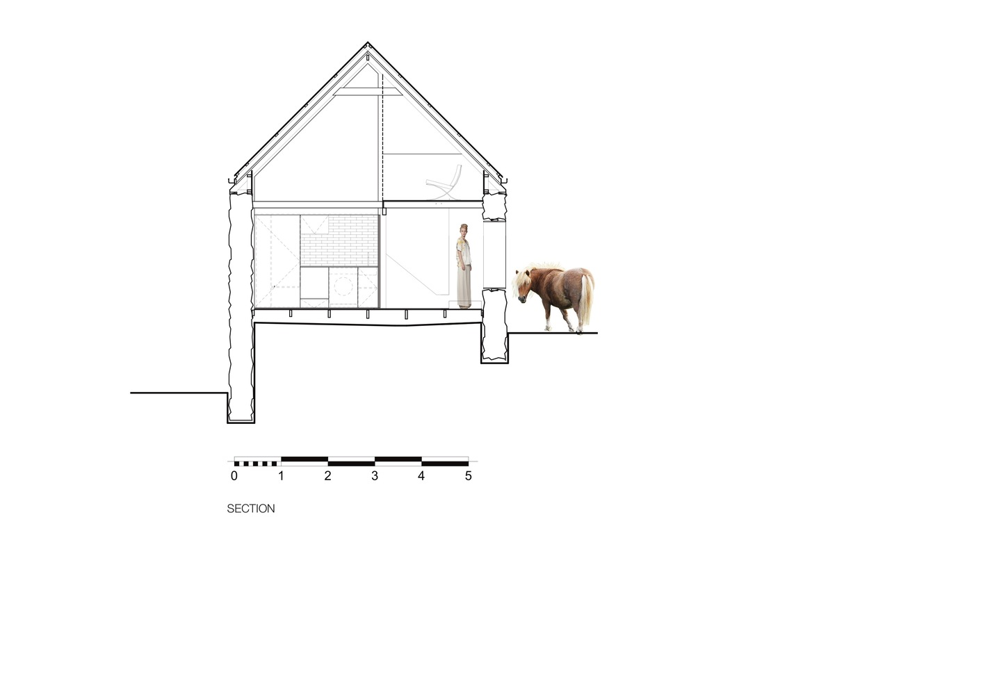 "Barn Conversion Does ""As Much As Necessary, As Little As Possible"""