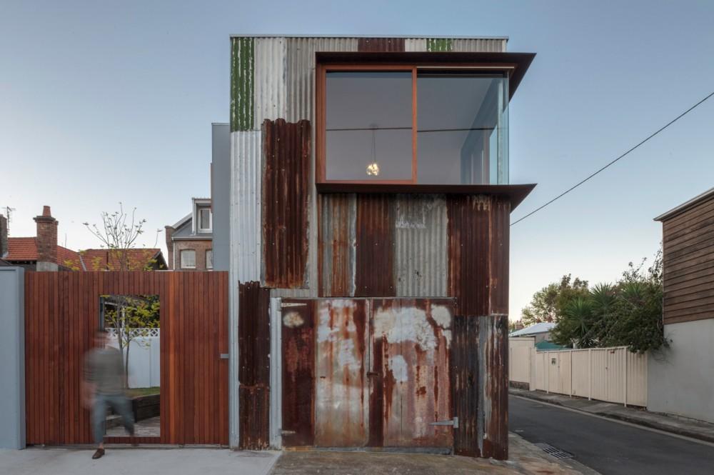 Tinshed House by Raffaello Rosselli (via Lunchbox Architect)