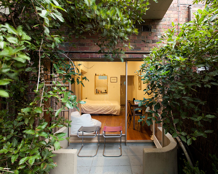 The Purple Rose of Cairo Tiny Apartment Courtyard