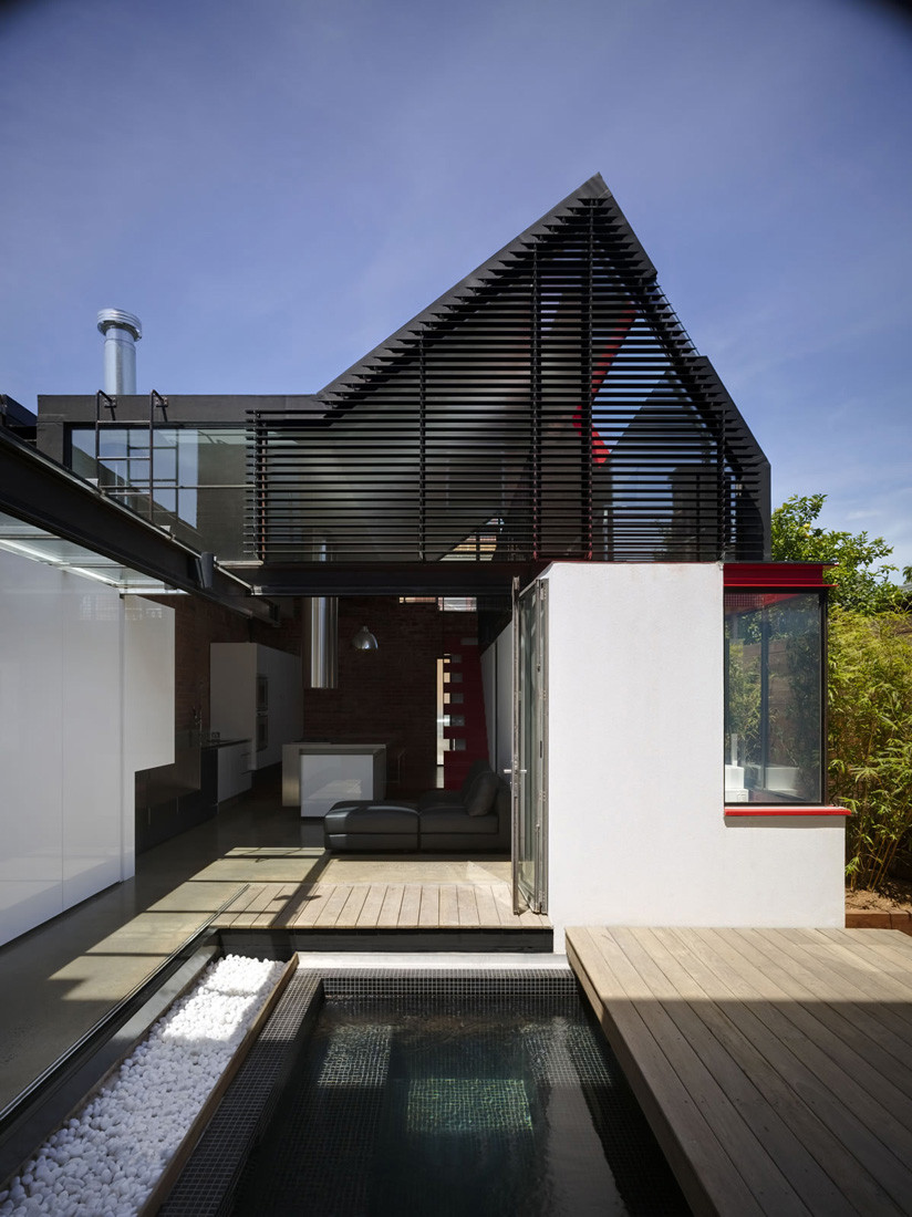 Vader House by Andrew Maynard Architects (via Lunchbox Architect)