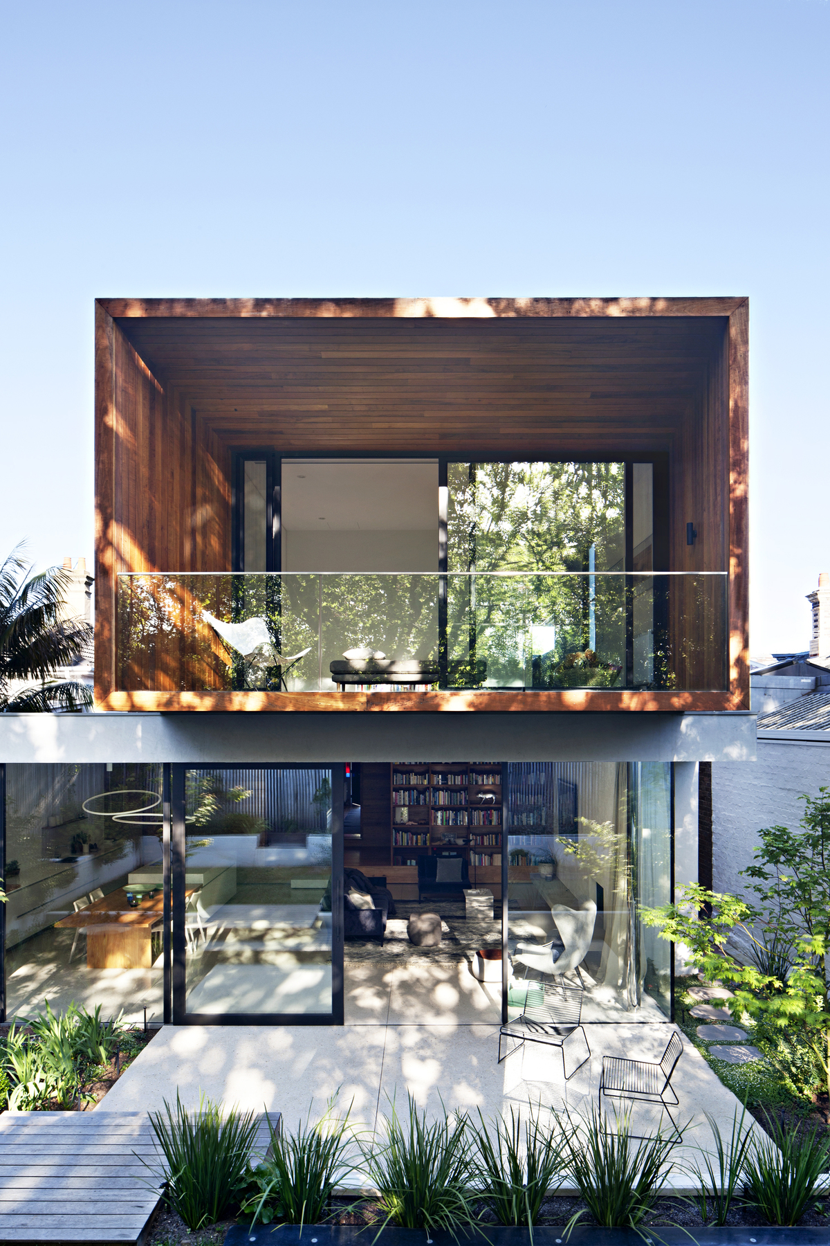 Modern Two-storey Addition Embraces the Park to the Rear of This Home