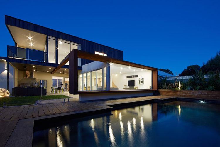 XYZ House by Mark Aronson Architecture (via Lunchbox Architect)