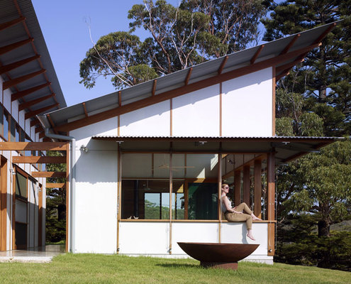 Fibre cement houses 5 homes that celebrate that old beach - How to design a home ...