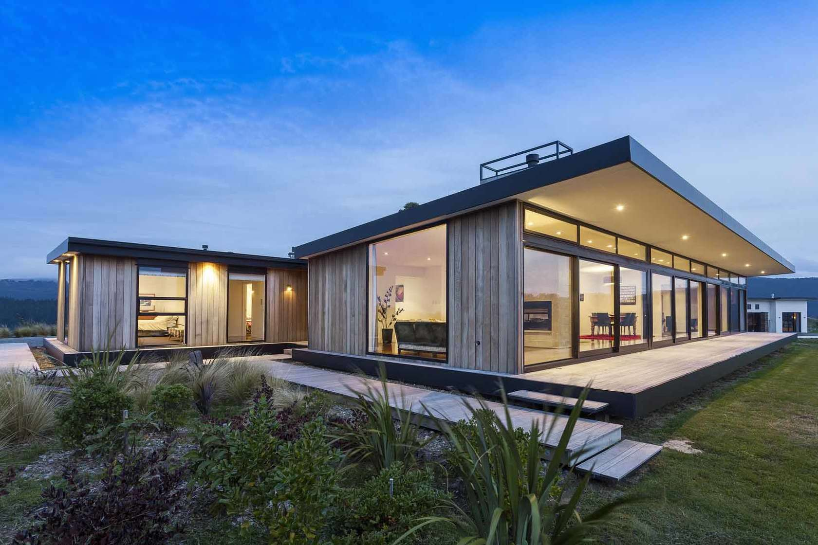 Pairing kiwi houses and wine for Home architecture