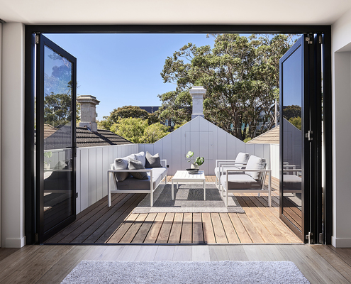 Albert Park Terrace by Dan Webster Architecture (via Lunchbox Architect)