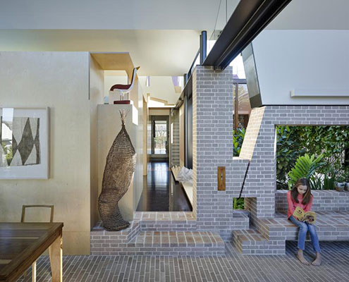 Aperture House by Cox Rayner Architects & Twofold Studio (via Lunchbox Architect)