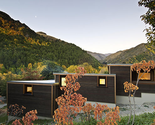 Arrowtown House by Kerr Ritchie Architecture (via Lunchbox Architect)