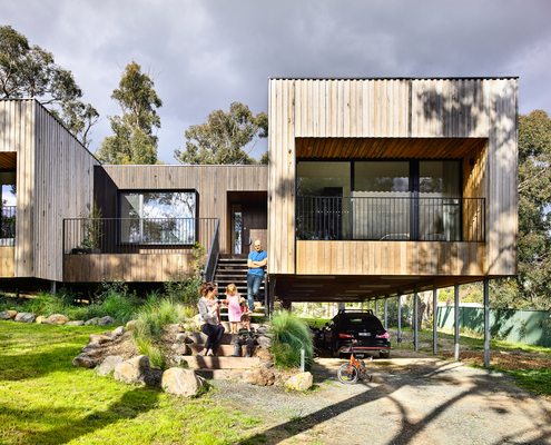 Ballarat East House by Porter Architects (via Lunchbox Architect)