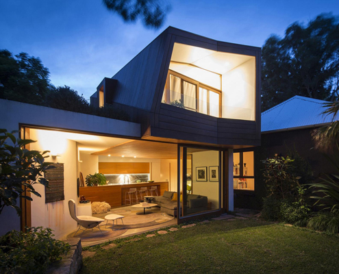 Balmain House by Fox Johnston Architects (via Lunchbox Architect)