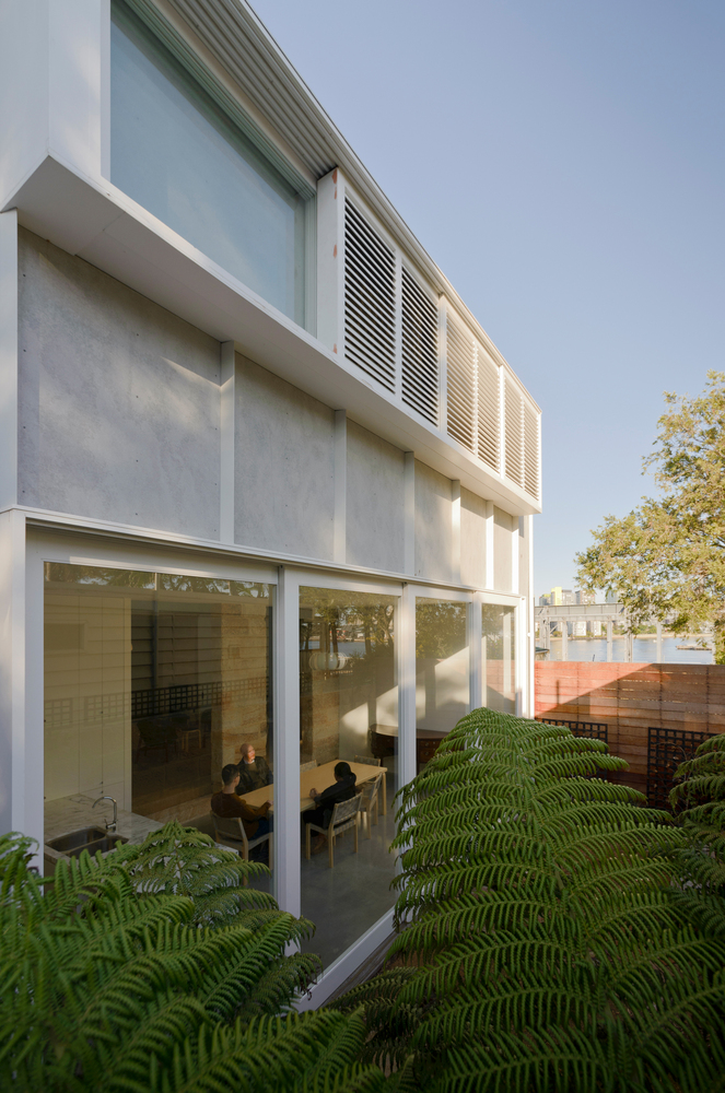 Rejuvenating a sydney sandstone while respecting its - Maison camperdown carter williamson architects ...