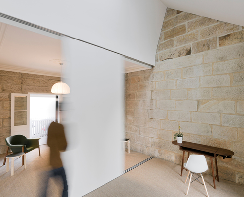 Balmain Sandstone Cottage by Carter Williamson Architects (via Lunchbox Architect)
