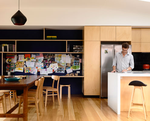 Batten and Board House by Rob Kennon Architects (via Lunchbox Architect)