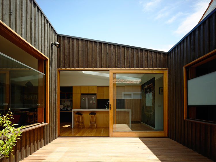 Batten And Board House A Simple Box Transforms A
