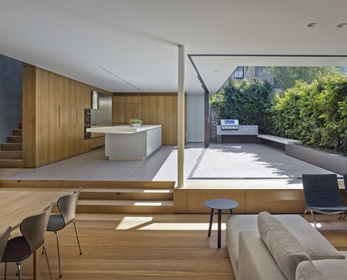 Birchgrove House by Nobbs Radford Architects (via Lunchbox Architect)