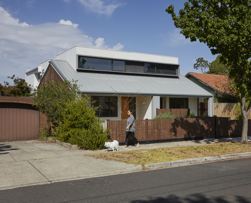 Box Hill North Townhouse by Inbetween Architecture (via Lunchbox Architect)