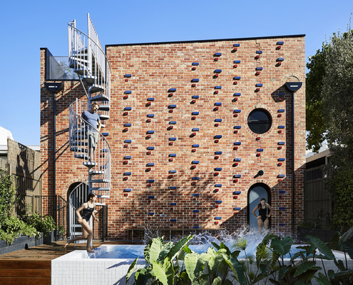 Brickface by Austin Maynard Architects (via Lunchbox Architect)