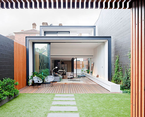 Bridport Residence by Matt Gibson Architecture (via Lunchbox Architect)