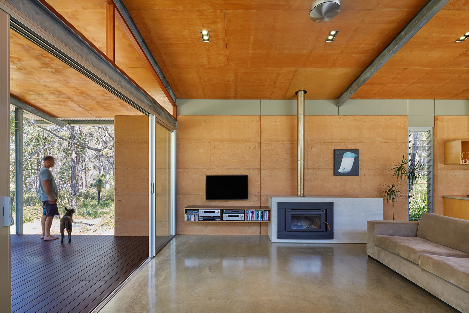 A Home Inspired By The Feelings Of Camping Under A Simple