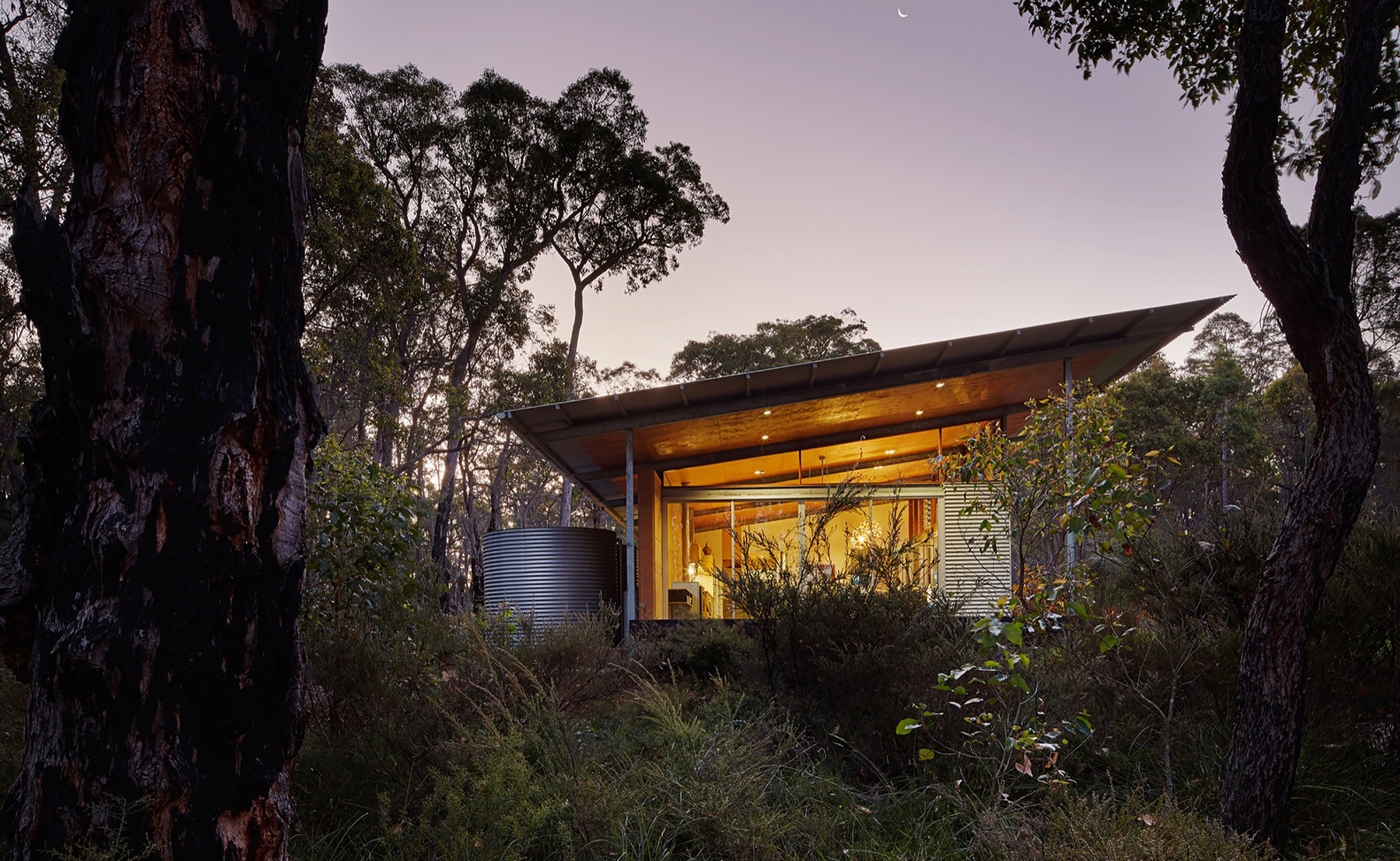 Sustainable Home Design Queensland A Home Inspired By The Feelings Of Camping Under A Simple