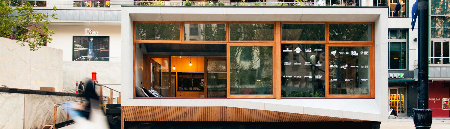 World's First Carbon Positive Prefab House Drops in to Melbourne