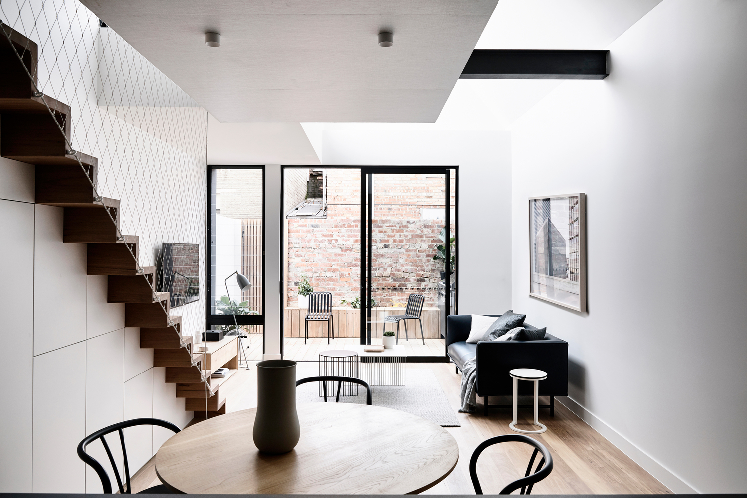 awesome industrial style home design | A Double Height Space Brings Light Into This Previously ...