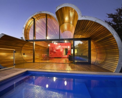 Cloud House by McBride Charles Ryan (via Lunchbox Architect)