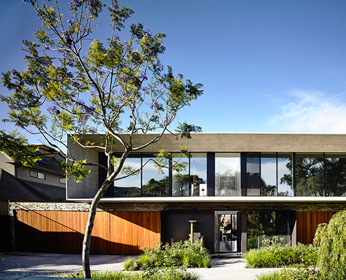 Concrete House by Matt Gibson Architecture (via Lunchbox Architect)