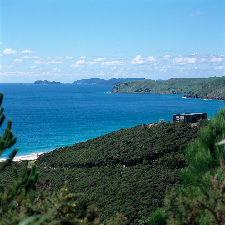 Coromandel Bach Beach House Literally Opens To The View