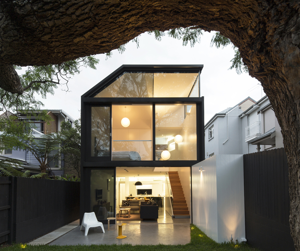 House Backyard Extension : Cosgriff House by Christopher Polly Architects (via Lunchbox Architect