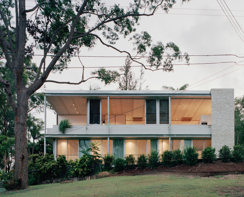 Couldrey House by Peter Besley, Assemblage (via Lunchbox Architect)