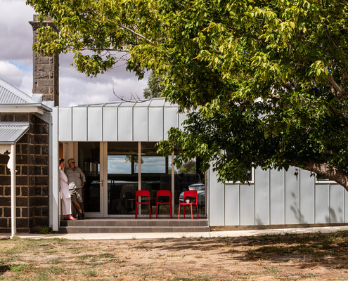 Cressy Road House by H2o Architects (via Lunchbox Architect)
