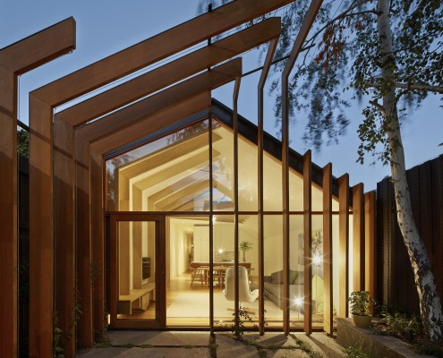 Cross Stitch House by FMD Architects (via Lunchbox Architect)