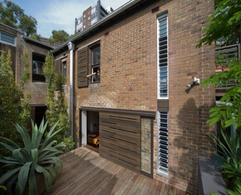 Darlinghurst Terrace by Nettleton Architects (via Lunchbox Architect)