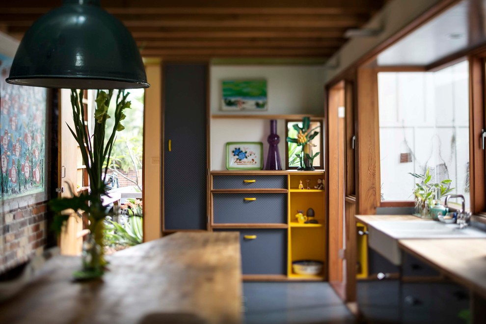 Two eclectic new homes in marrickville offer a new way of - Maison marrickville david boyle architect ...