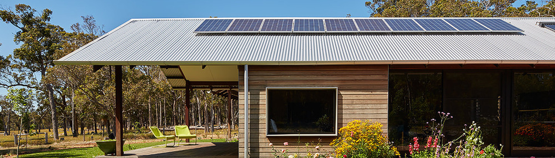 A Modern Farm House With Traditional Style Verandah
