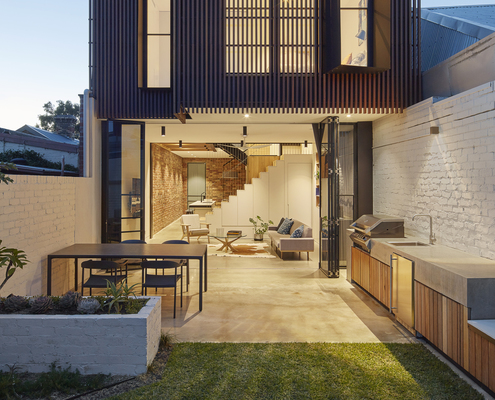 Fitzroy North House by MMAD Architecture (via Lunchbox Architect)