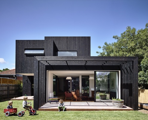 Garth House by Ola Architecture Studio (via Lunchbox Architect)