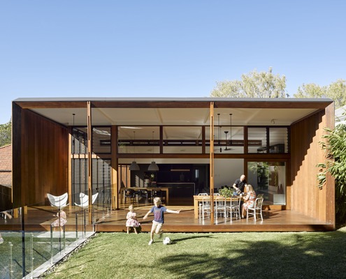 Gresham Street House by Jackson Teece (via Lunchbox Architect)