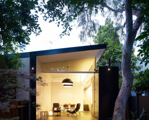 Haines House by Christopher Polly Architects (via Lunchbox Architect)