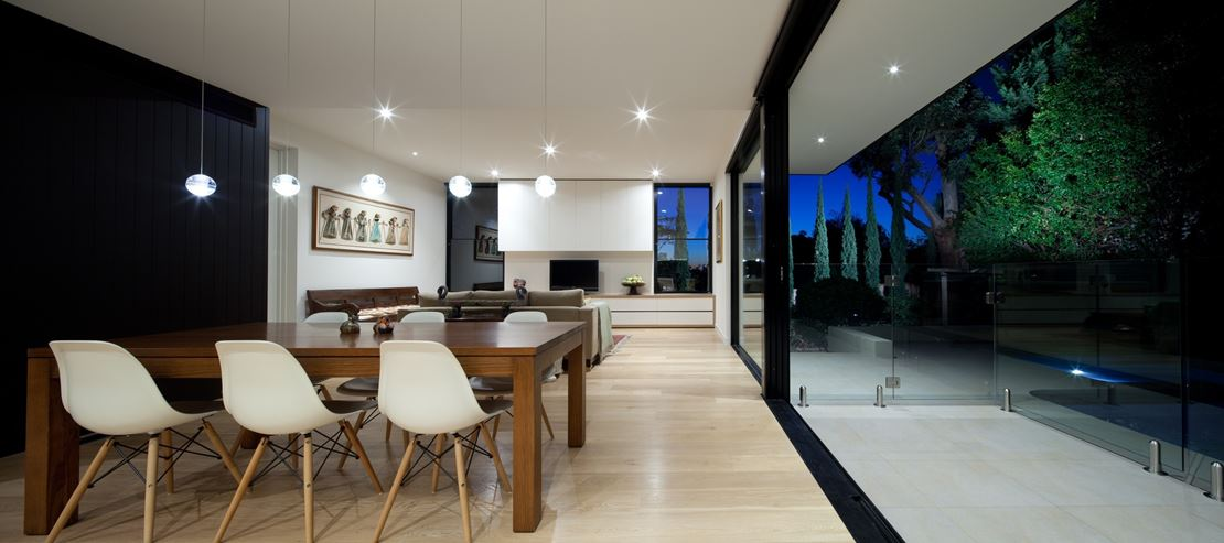 A typical english cottage style house is transformed into for Cottage style homes melbourne