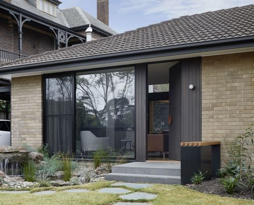 Hawthorn Villa by McManus Lew Architects (via Lunchbox Architect)