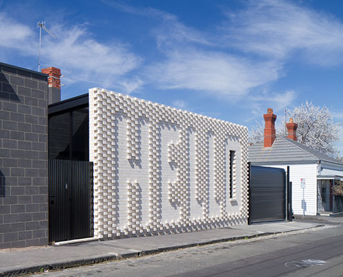 Hello House by OOF! Architects (via Lunchbox Architect)