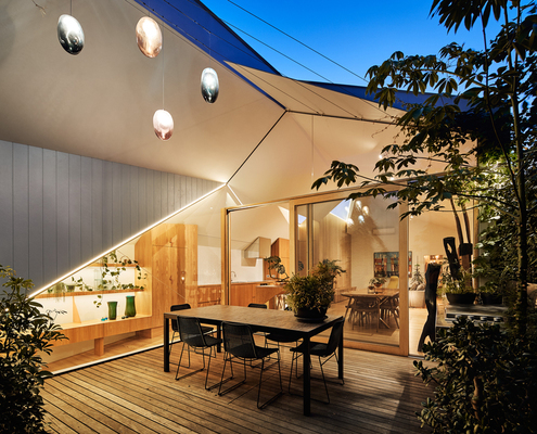 His & Her House by FMD Architects (via Lunchbox Architect)