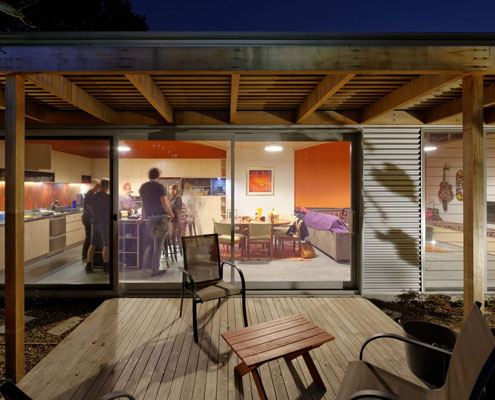 Islington House by Bourne Blue Architecture (via Lunchbox Architect)