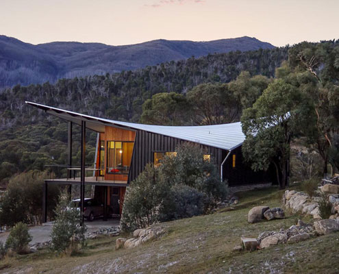 Lake Crackenback Ski Lodge by Lance Workshop Architecture and Design (via Lunchbox Architect)