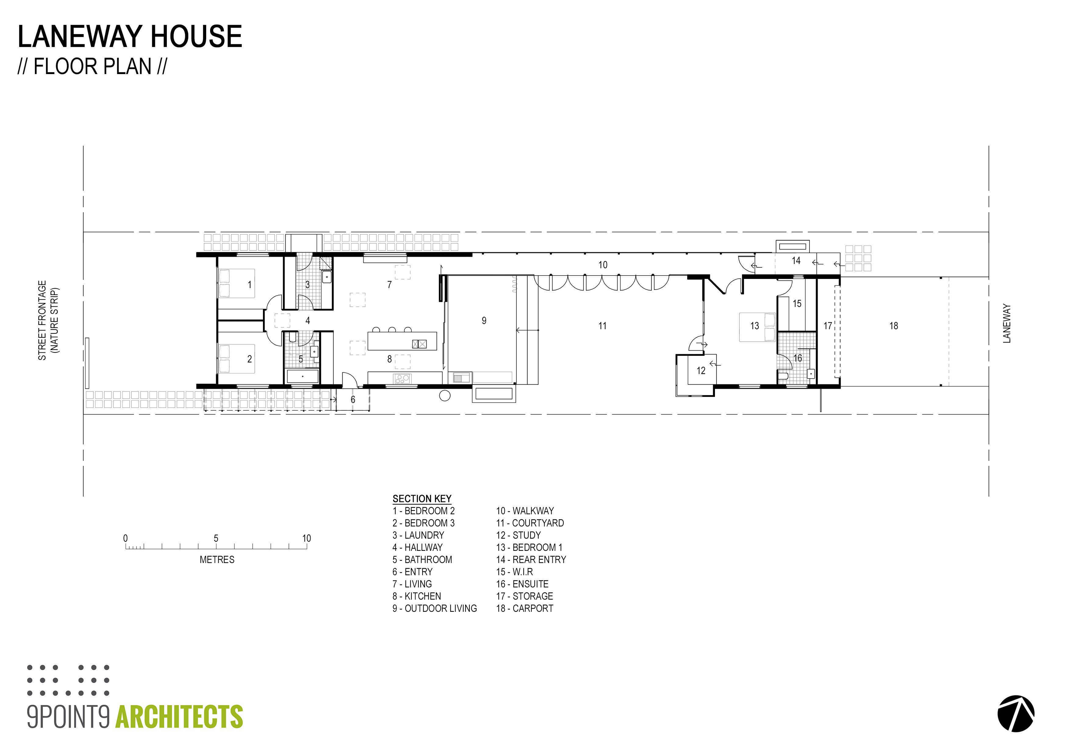 How to design a courtyard that actually works for Brodie house plan