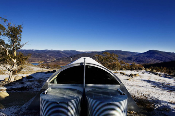 Snowy Mountains House Living Off The Grid Never Looked