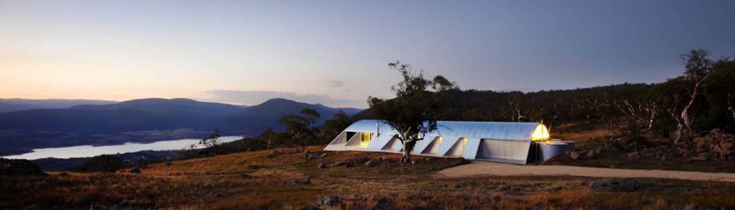 Living In The Mountains snowy mountains house: living off the grid never looked this good
