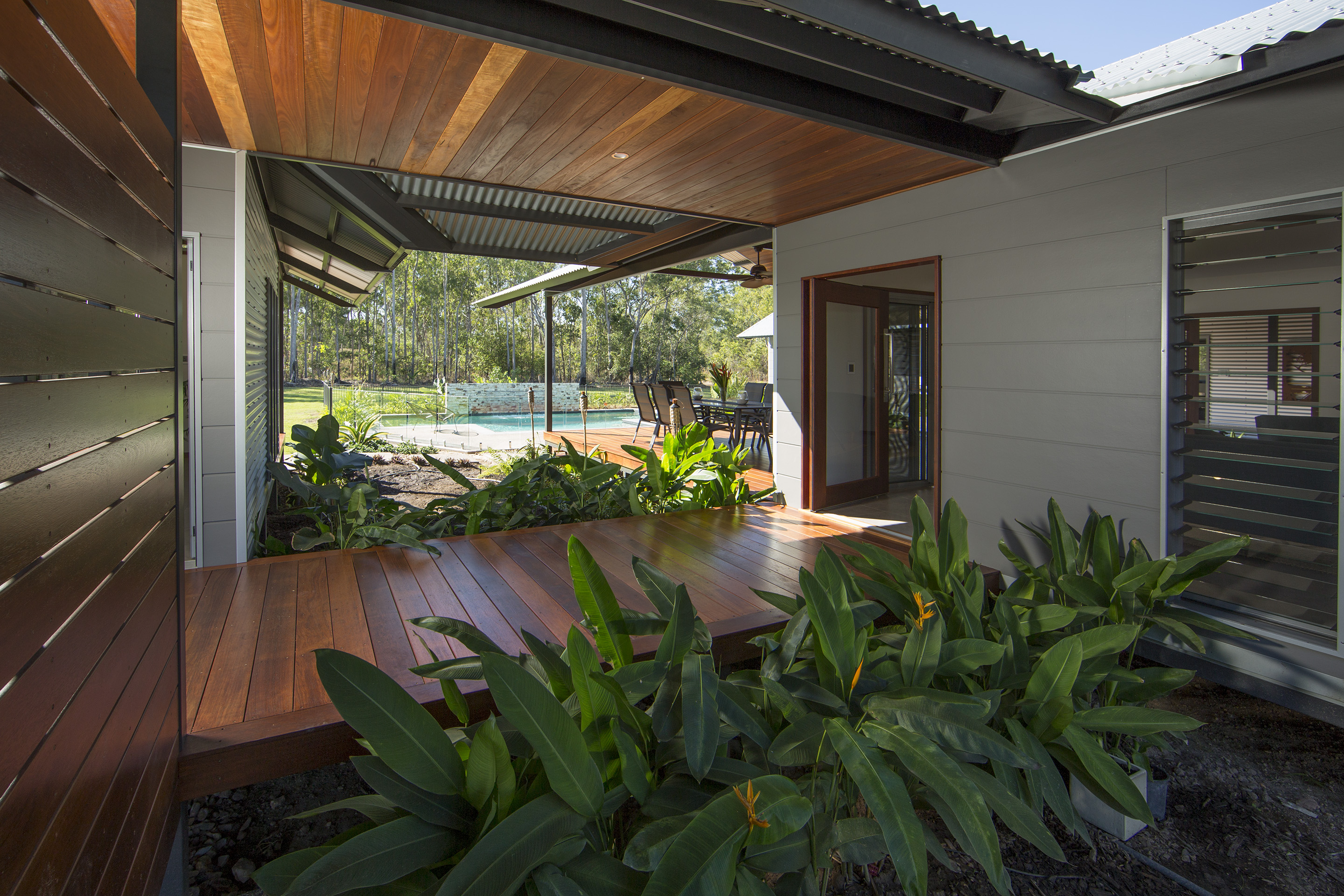 When you live in the tropics you need a home for outdoor for House behind house designs